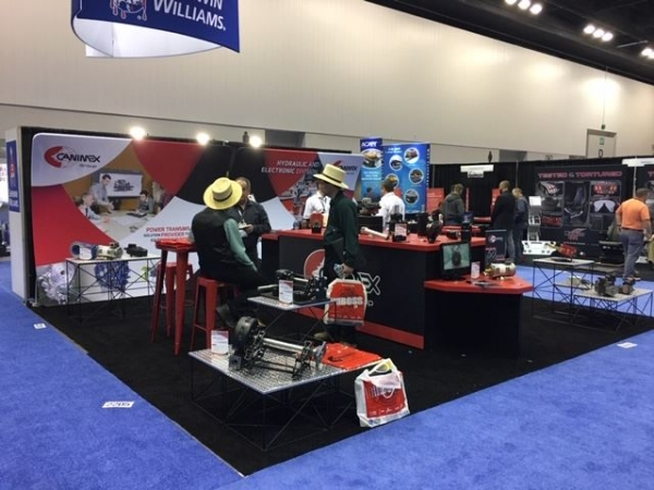 Canimex at the Indianapolis Work Truck Show from March 3 to 6