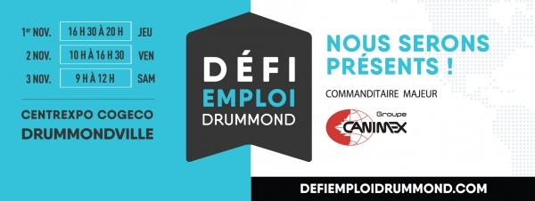 Le Groupe Canimex cherche la relève de demain au Défi Emploi Drummond 2018