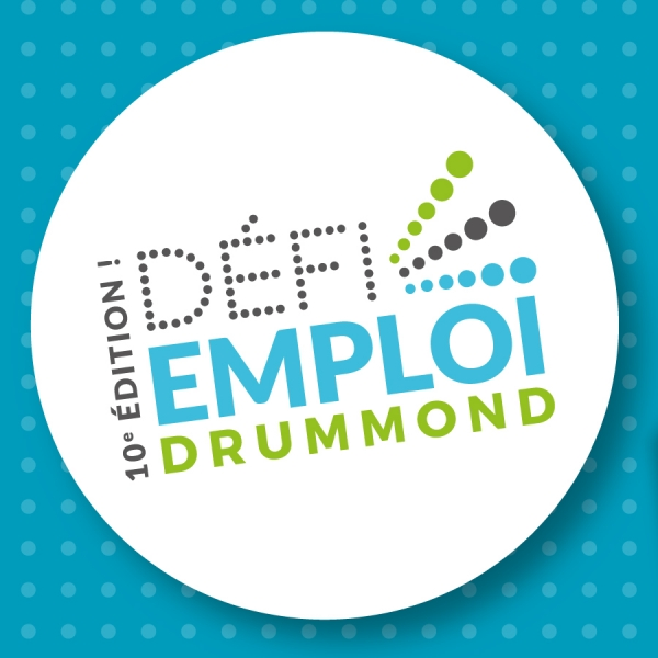 Looking forward to meeting you at Défi Emploi Drummond!