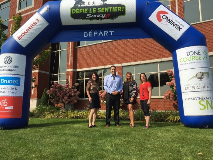 Canimex Group Sponsors the Défie le sentier Soucy