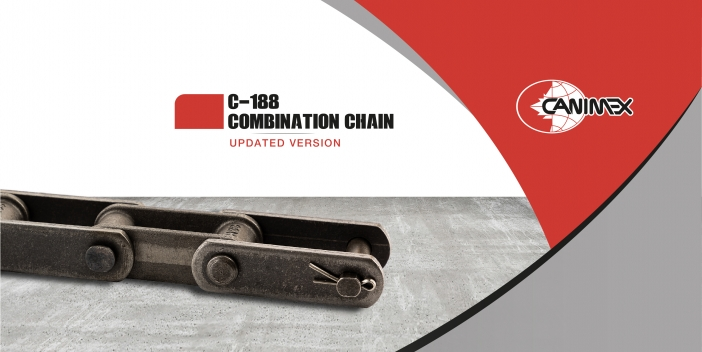 Canimex launches the updated version of the C-188 combination chain