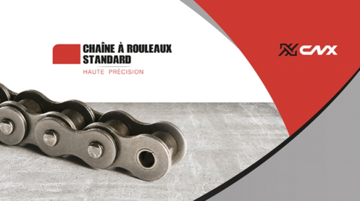 Canimex introduit la nouvelle gamme de chaînes haute performance CNX