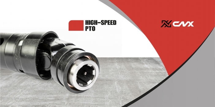 Canimex launches the new CNX high-speed PTO drive shaft