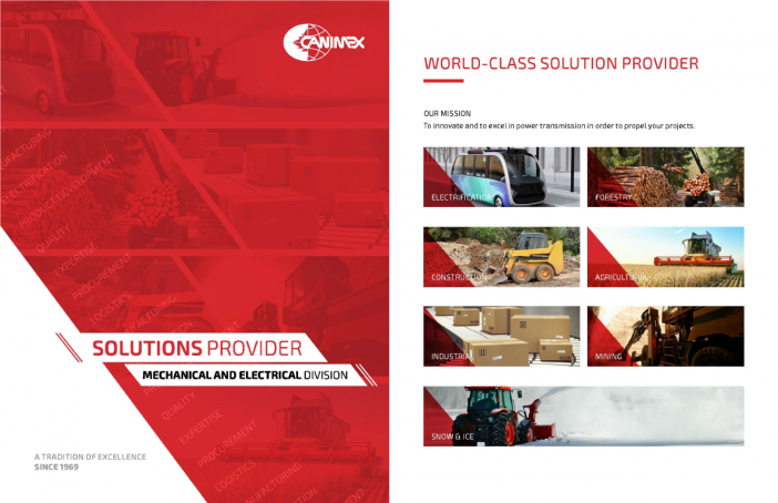 The Mechanical and Electrical Division presents its new Solutions Provider brochure