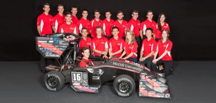 Canimex Group is Proud Sponsor of the McGill Racing Team