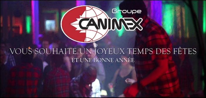 Un party de Noël haut en couleur chez Groupe Canimex!