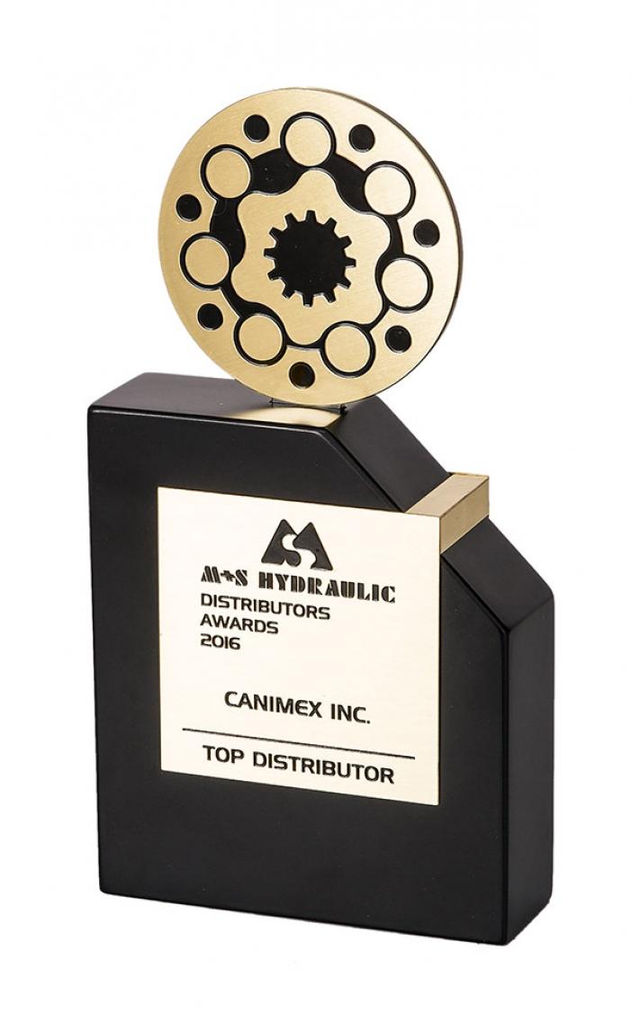Prix international pour la Division hydraulique et électronique de Canimex