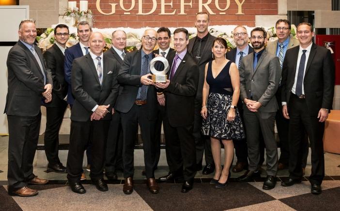 Le Groupe Canimex récipiendaire d'un premier prix « rayonnement international » au Gala Le Manufacturier