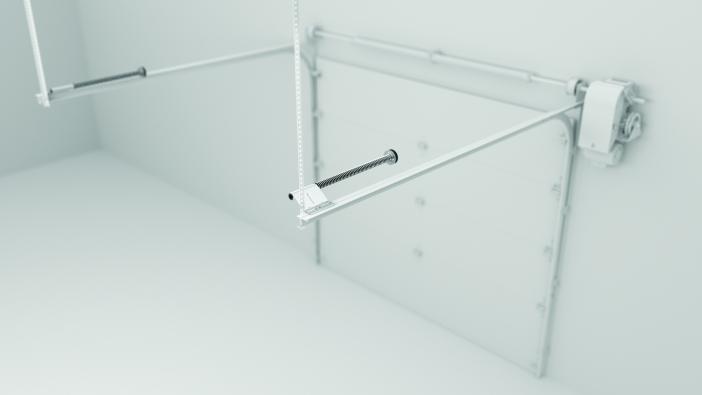 Découvrez la deuxième de trois nouvelles solutions pour portes de garage signées Torque Force