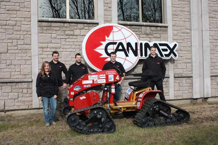 Appui du Groupe Canimex à l'équipe de compétition universitaire en ingénierie ULtrac